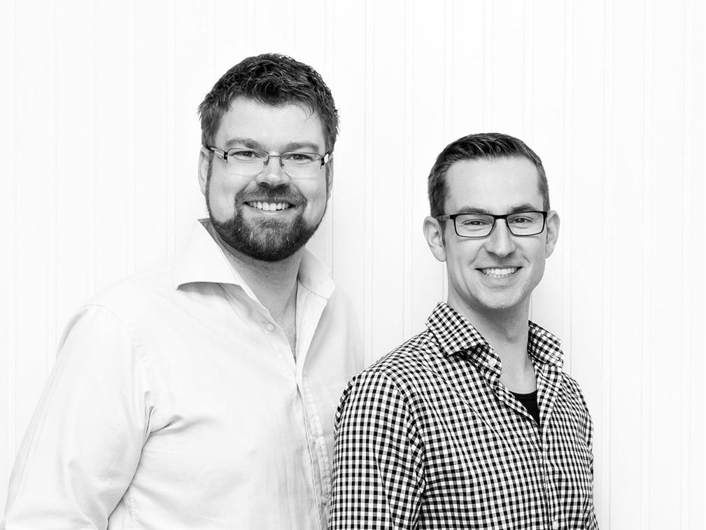 Dr. Tim Optenhöfel und Stefan Preuß